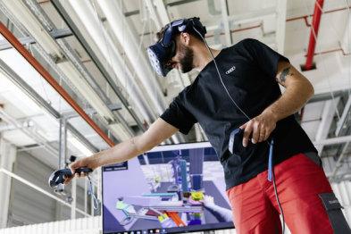 VR与3D扫描技术助力奥迪e-tron GT实现数字化规划生产