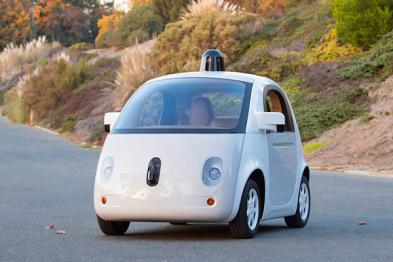 谷歌又多了一项新专利,为无人车配自主清洁系统