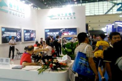 保千里参展2016中国(郑州)国际汽车后市场博览会,智能驾驶新品受好评
