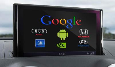 """通用、福特为谷歌站台,声明「Android Auto不会""""窃取""""汽车数据」"""