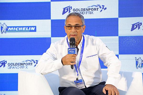 米其林亚太赛车运动部总监狄跃驰(Patrick Dias)先生