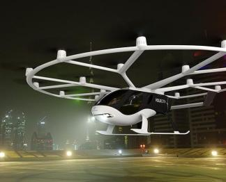 吉利投资的Volocopter试飞电动空中出租车,将在2024年奥运会上投入使用
