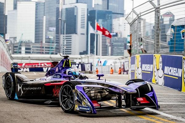 DS Virgin Racing车队Formula E赛车