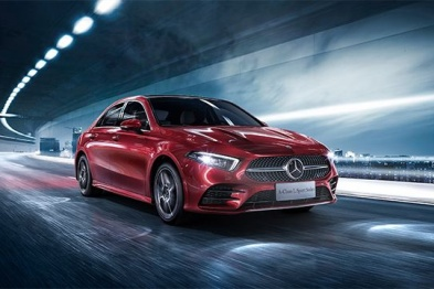 预售21.6-30.8万,奔驰长轴距A级轿车于明日下线