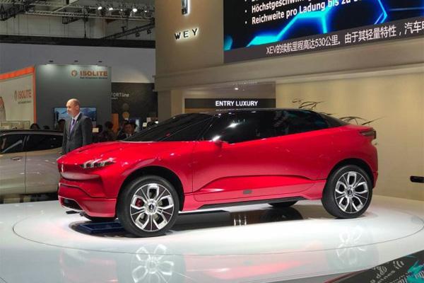 WEY品牌全新纯电动概念车型XEV