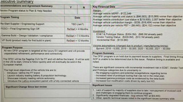 腾讯《深网》获取的一份FF内部项目评估报告