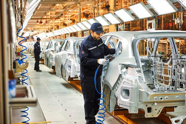 宝沃工厂-车门安装