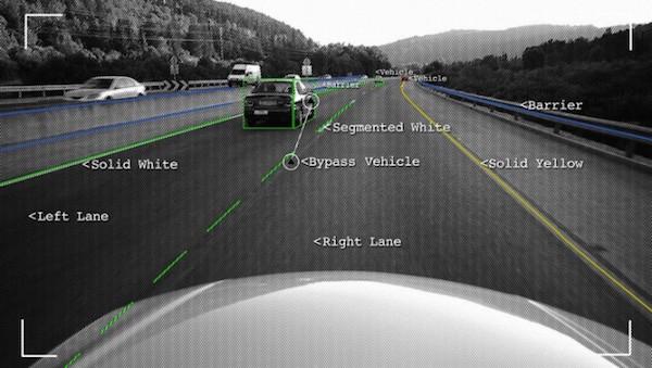 英特尔自动驾驶车