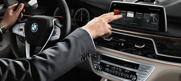 新寶馬7系上搭載了具備手勢識別/控制功能的人機交互系統