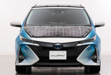 丰田测试全新太阳能车顶