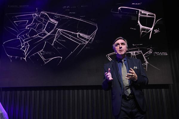 吉利汽车集团设计高级副总裁彼得·霍布里(Peter Horbury)