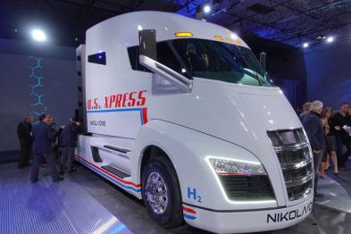 尼古拉汽车公司发布氢电卡车Nikola One