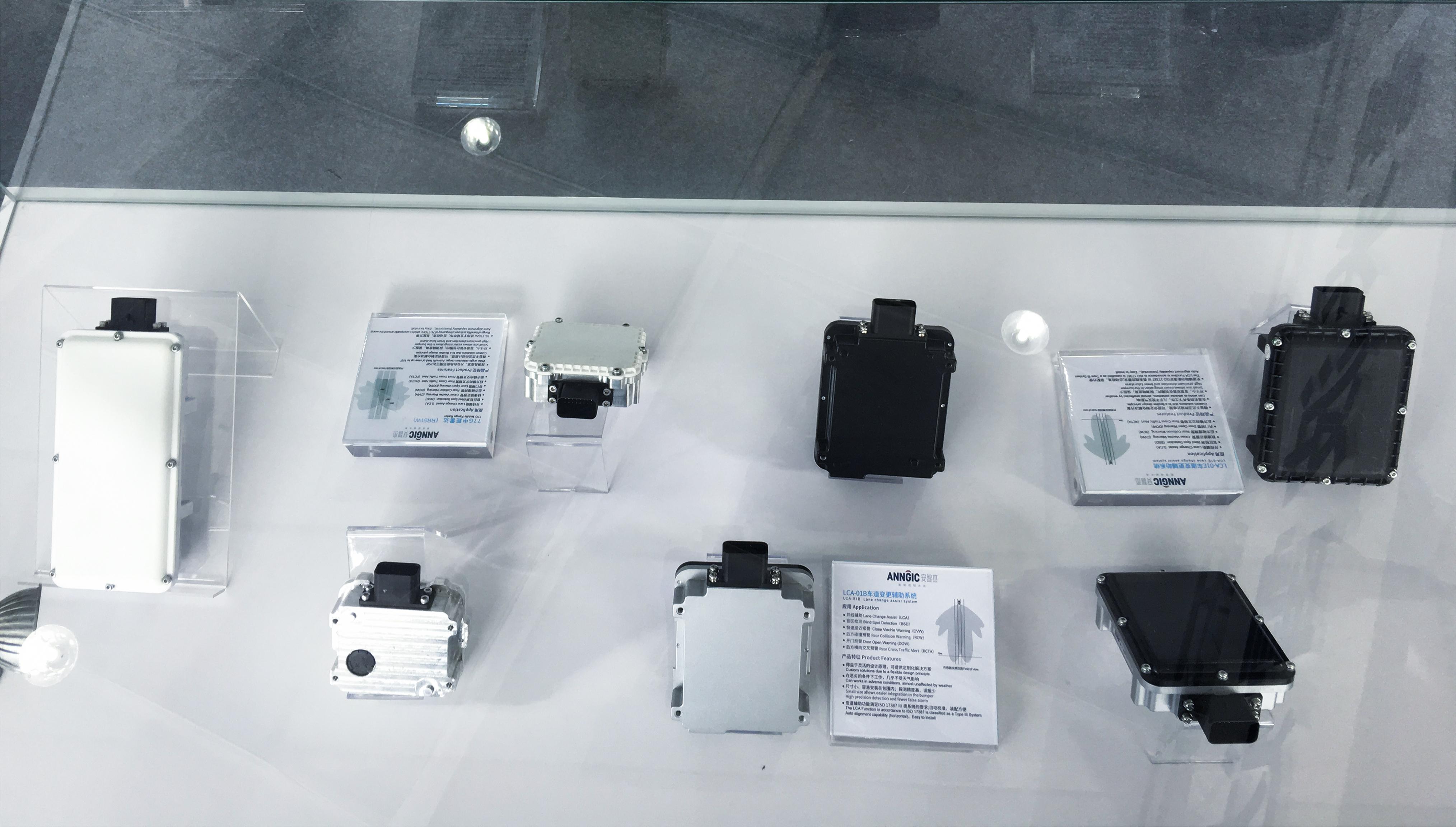 智能安全驾驶系统核心传感器展示