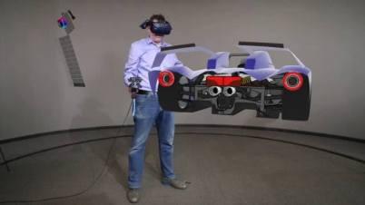 福特利用虚拟现实技术远程合作设计汽车