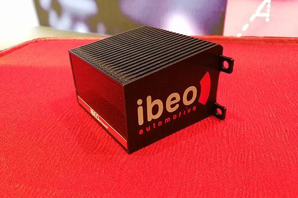 Ibeo固态激光雷达模型