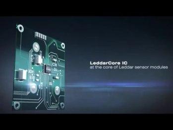 法雷奥和LeddarTech合作的固态激光雷达,可以低调藏进车灯