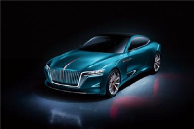 红旗概念跑车亮相车展,未来将量产销售