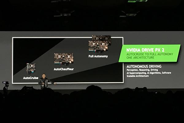 NVIDIA DRIVE PX 2的三款平台架构