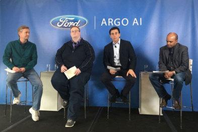 福特10亿美元投资人工智能公司研发自动驾驶