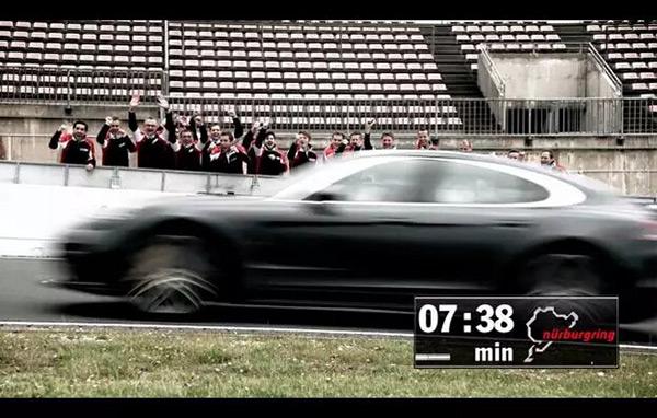 全新一代Panamera Turbo以7分38秒创下纽北最快四门轿车圈速纪录