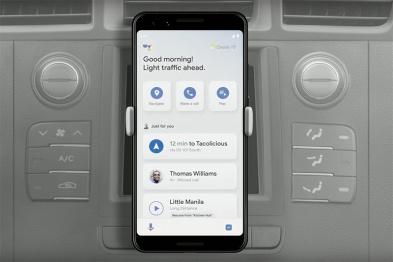 谷歌發布的Assistant Driving Mode,和背后與蘋果不同的發展邏輯