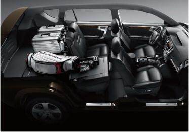 全尺寸豪情SUV的空间谋略