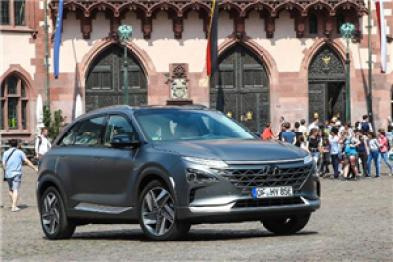 现代汽车与两家法国公司签署谅解备忘录,将向法国出口5000辆氢燃料电池汽车