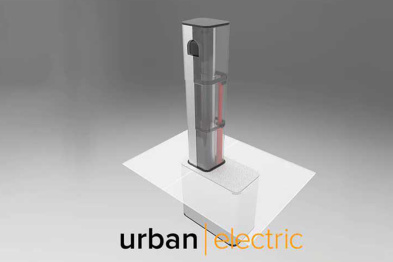 UEone可伸缩式充电桩推出
