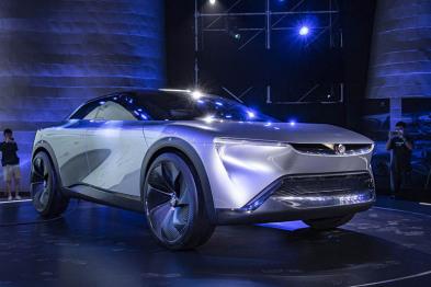 Electra概念车全球首发,别克未来科技出行的雏形