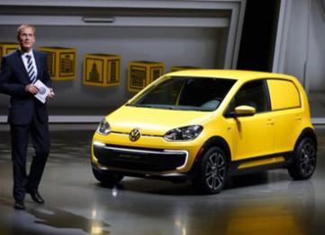 大众电动车计划加速:e-Up和e-Golf背后彰显的是野心