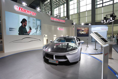 """亮相广州车展,汉能全太阳能动力汽车""""圈粉""""无数"""