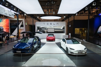 特斯拉携Model S、Model X及Model 3亮相北京车展