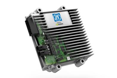 ZF联合NVIDIA推出人工智能自动驾驶系统