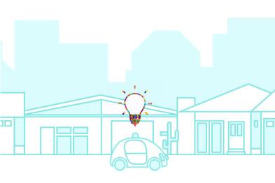 按下「自动驾驶 」按钮后,谷歌豆荚车「想」了些什么?