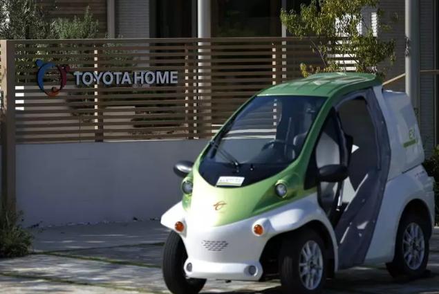 日本爱知县丰田市的超小型电动车COMS