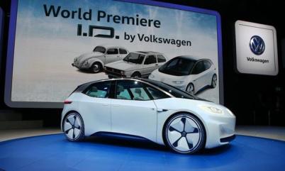 大众计划未来投入235亿美元加快电动汽车的生产