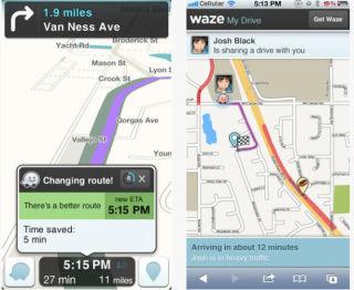 社会化导航应用Waze十亿身价嫁入谷歌,CEO称选择出售是因为不想上市