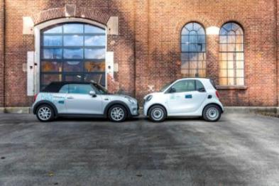 car2go和DriveNow合并成立SHARE NOW
