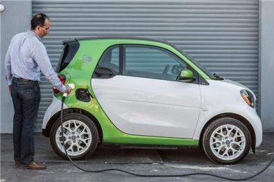 Smart宣布2017两座电动车美国降价