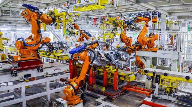 长城汽车俄罗斯图拉工厂智能化生产线