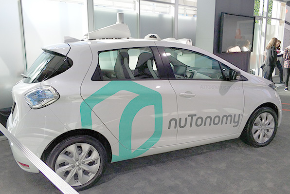 安波福与Lyft展示自动驾驶招车服务,按需出行产品2019年落地