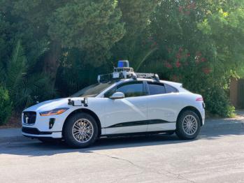Waymo公共道路上测试自动驾驶捷豹I-Pace