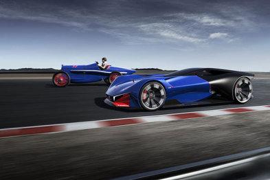 标致推出混动概念超跑L500 R Hybrid