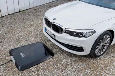 宝马将提供感应板对汽车进行无线充电