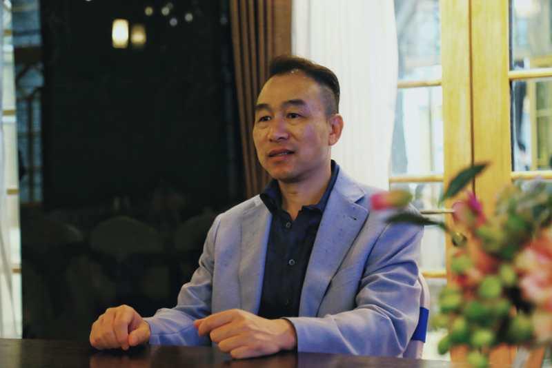 中智行联合发起人、总经理陈章宁