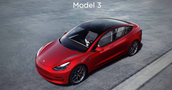 特斯拉Model 3登顶销冠 中国电动车行业受益匪浅 产业链全面崛起
