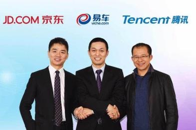 易车、京东、腾讯宣布战略合作,发展汽车电商平台