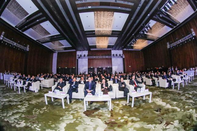 """""""2018中国汽车服务金扳手奖评选""""颁奖典礼现场"""