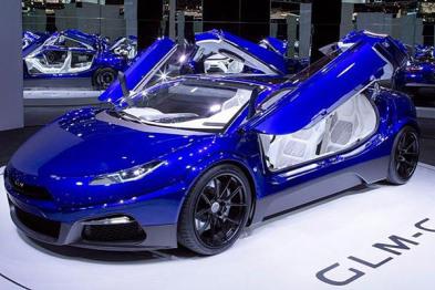 """""""日本特斯拉""""发布G4概念车,续航达400公里"""