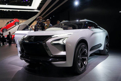 2017东京车展:三菱e-EVOLUTION亮相